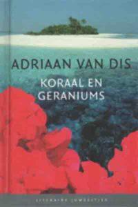 Koraal en geraniums