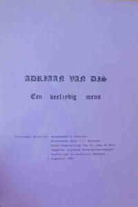 Minkman-scriptie - Adriaan van Dis